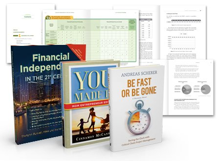 Business book design page and book cover design examples