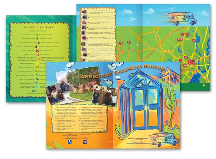 children's book page design examples