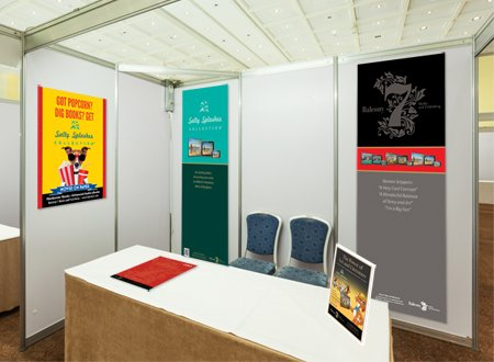 convention booth design example
