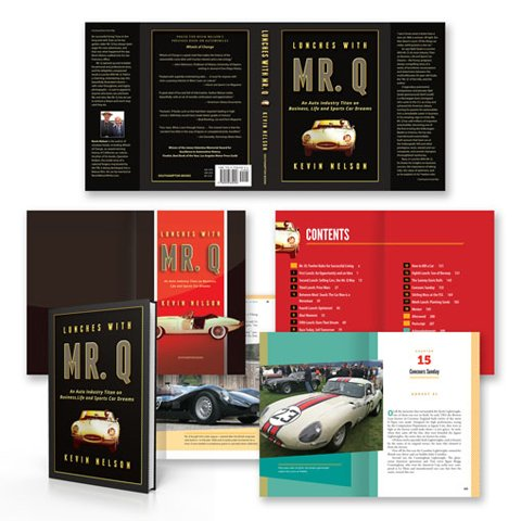 example of book jacket and page design coordination