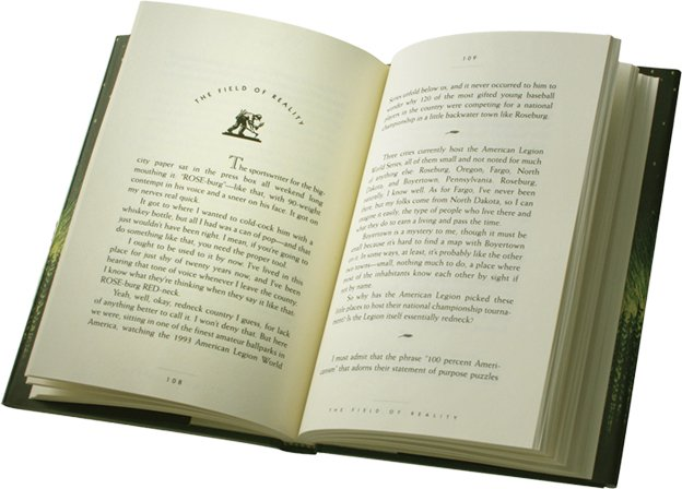 book page design example