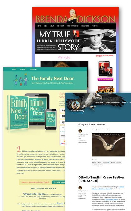 website and blog design examples