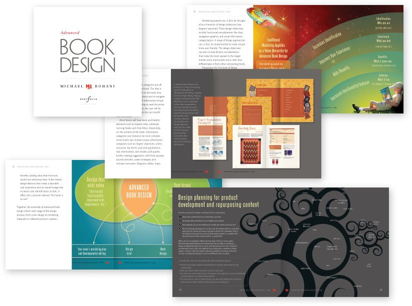 Advanced Book Design pages