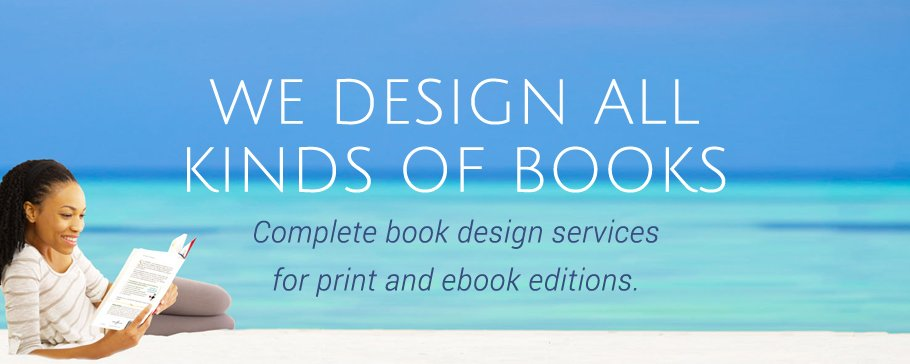 book design categories banner image
