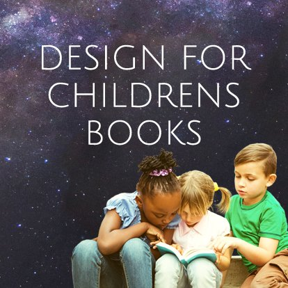 childrens book design banner image