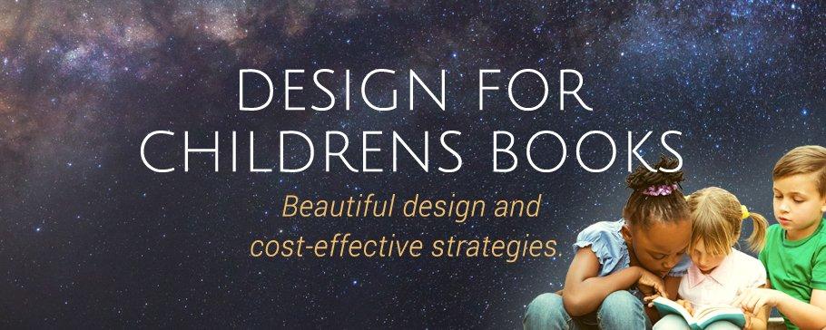 childrens book design banner image