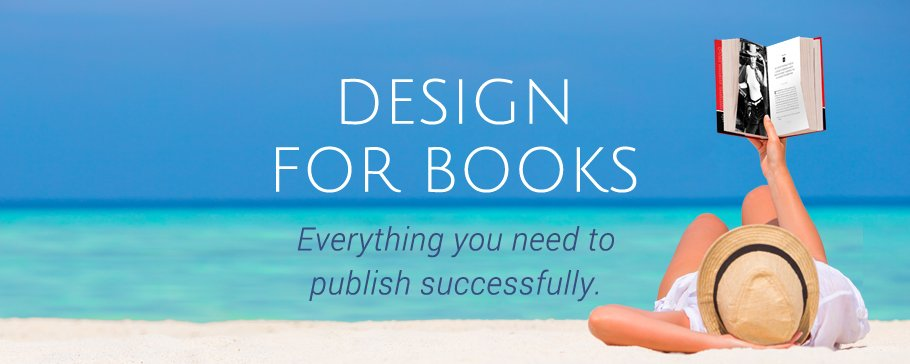 book design banner for tablets