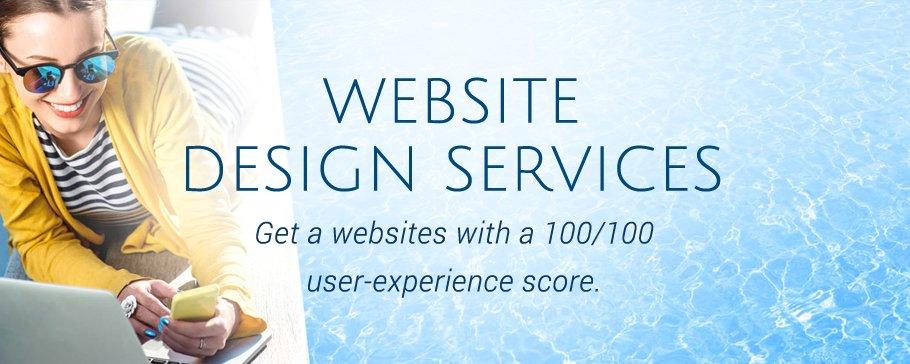 website design banner image