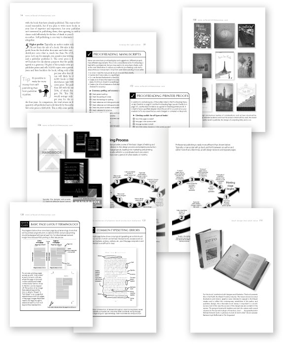 Self-Publish the Easy Way book pages