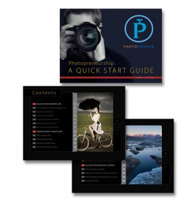 ePDF design for photography book