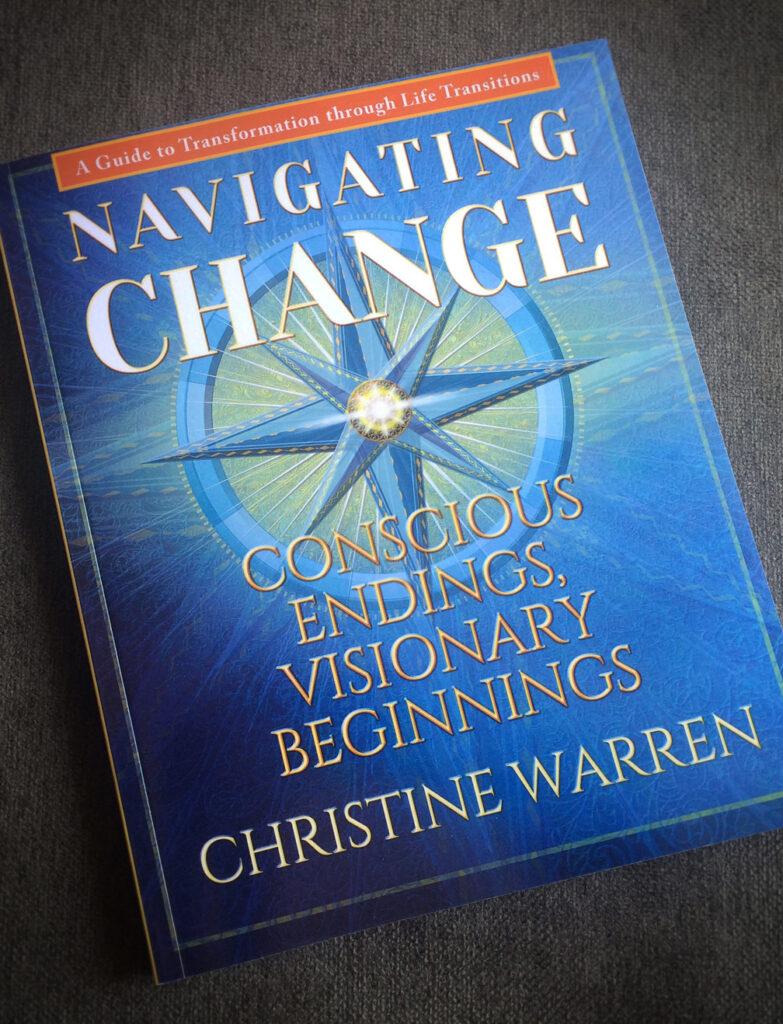 Cover design for Navigating Change.