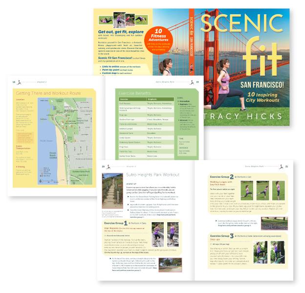 Book design for exercise book